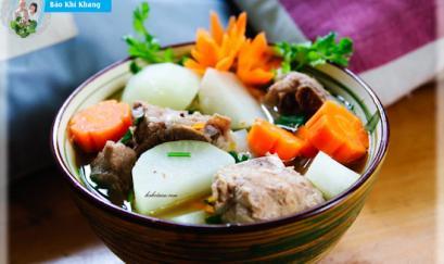 Món ăn trị ho hiệu quả cho mọi gia đình